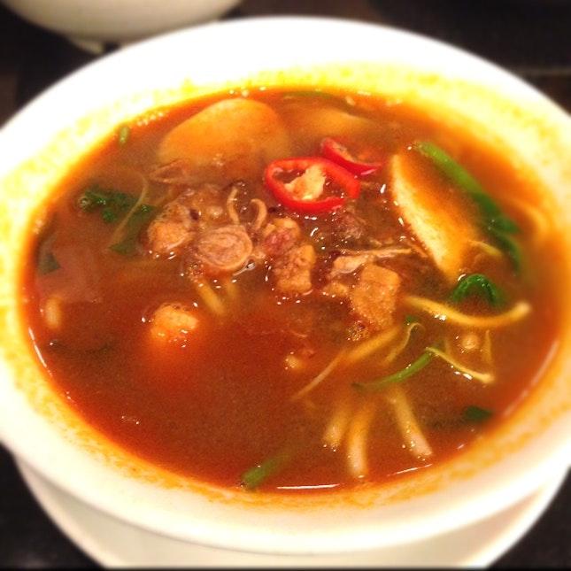 Hokien Prawn Noodle Soup