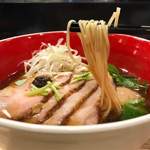 Loved the soy-based (shoyu) soba.