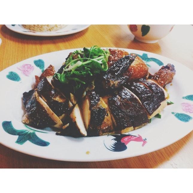 Soya Sauce Chicken + Roasted Chicken