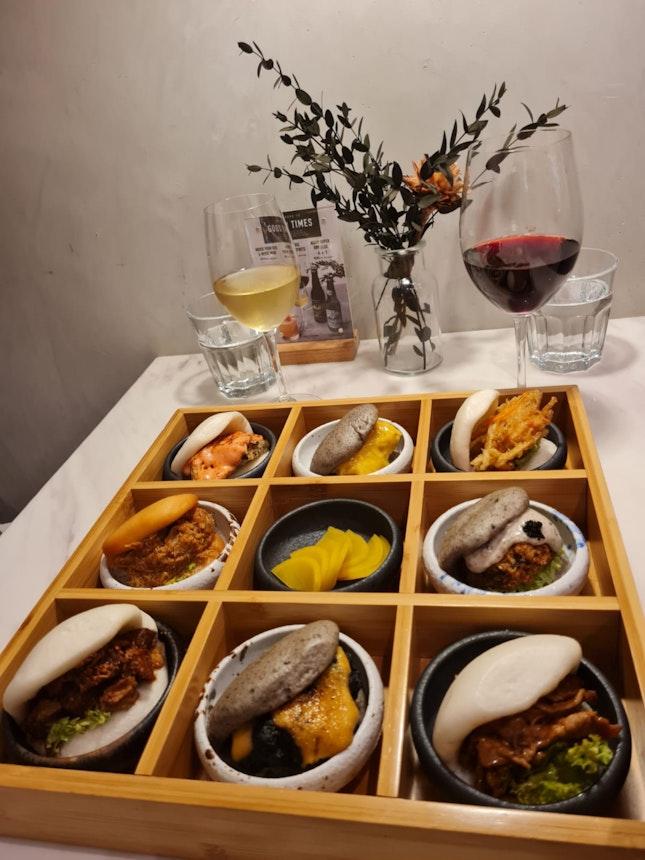 Bao Tasting Platter