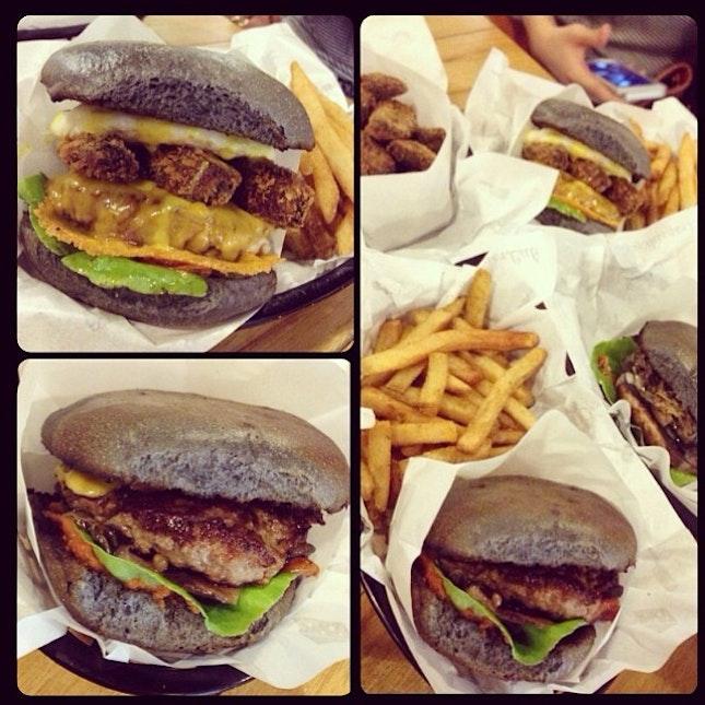 Burger hunt day 1 😍👍🍔 #burger #in #kl #beautifulmess #A+ #yummy