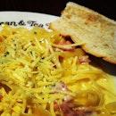 #carbonara #pasta #foodporn #food #yummy #hungry #dinner