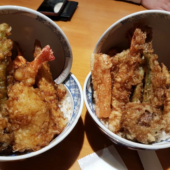 Spicy And Non Spicy Tempura