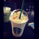 #starbucks #caramel #blended #yummy my #favourite #drink #coffee for #tonight #green #tea #latte #ig #igers #iphone4 #iphonesia