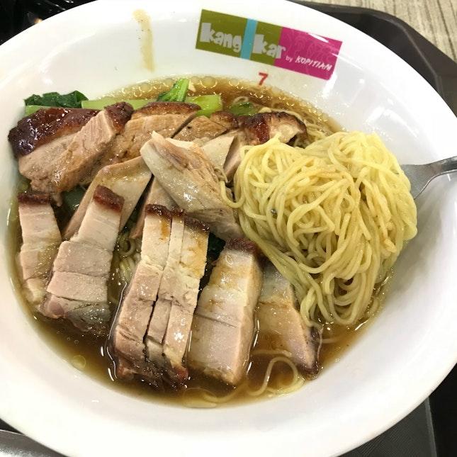Roast Pork Roast Duck Noodle