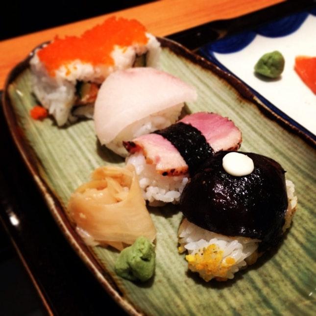 Mushroom Sushi?
