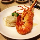 Braised baby lobster white noodles #latergram #sgfood