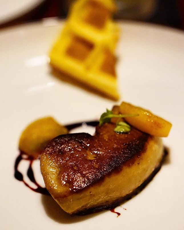 'Cause foie gras over anything!