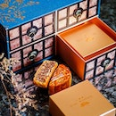 Taking on the botanical theme that more evidently flows through their recently revamped One-Ninety restaurant, @FSSingapore's jewellery box-style #mooncake box is an exquisite mix of contemporary and elegance.
