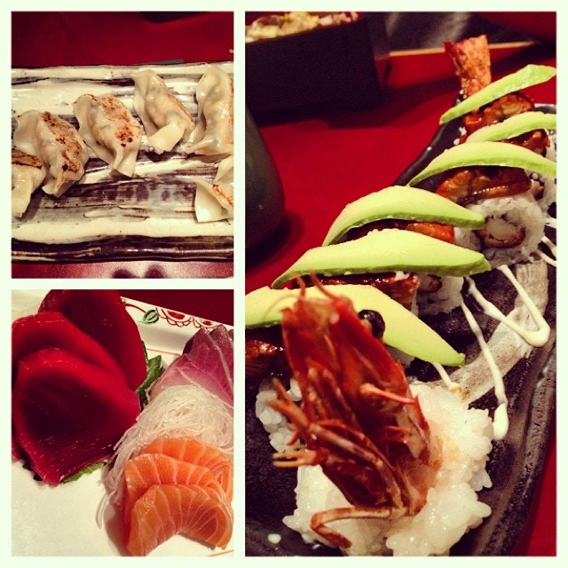 Dinner with the Foos #burpple #sushi