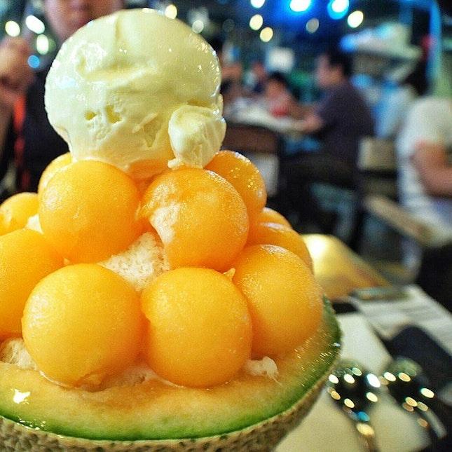 Melon bingsu anyone?