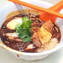 Guess I'm on a hawker food roll - This bowl of Lor Mee ($3) requires some attention here.