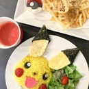 The idea of a Pokemon Cafe is still hard to resist as I finally caught them before they disappear today 😿