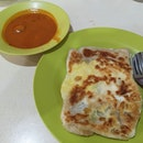 The egg prata here is good, but their kosong prata is even better.