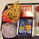 My first meal of 2014 was surprisingly Macs!!!