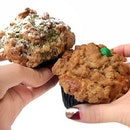 Muffins With Crumble Toppings