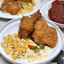 🍗Enjoying a great meal at @tenderfreshsg newest outlet- Tenderbest Makcik Tuckshop at Jalan Kayu.