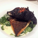 Charcoal Lobster & Barramundi