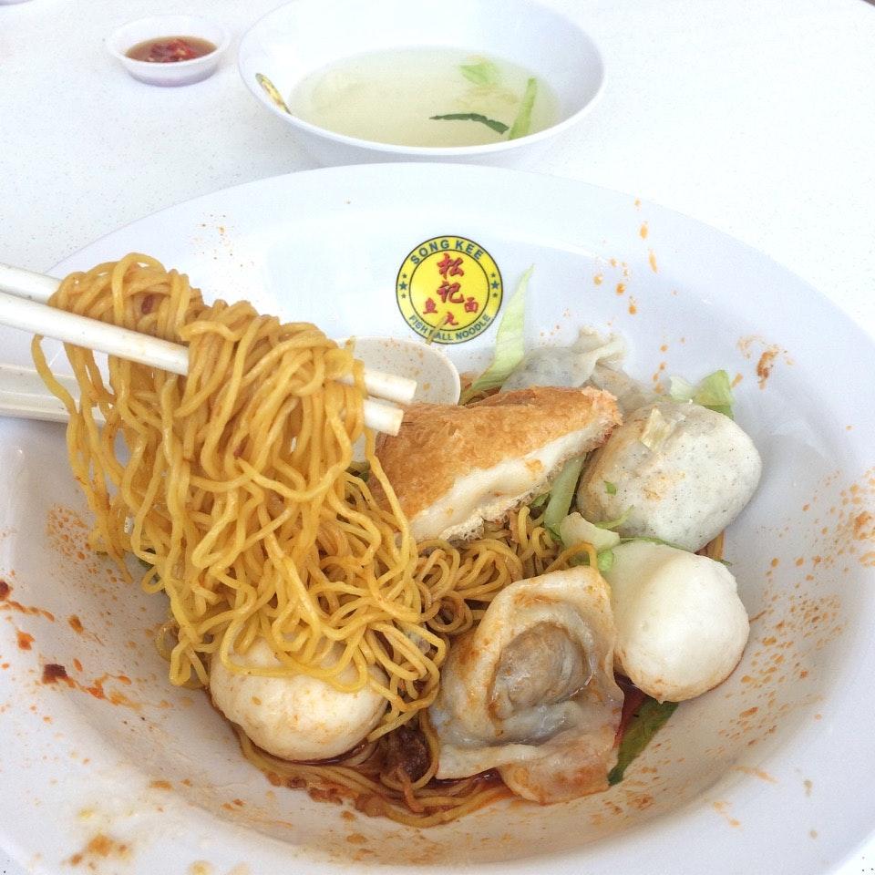 Fishball Noodles $6(Medium)