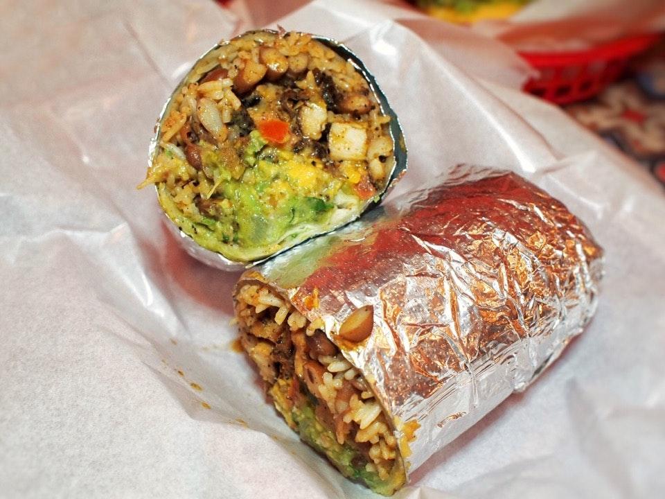 Pollo Asado Burrito - $12