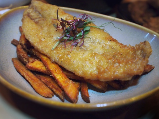 Fish & Chips $22