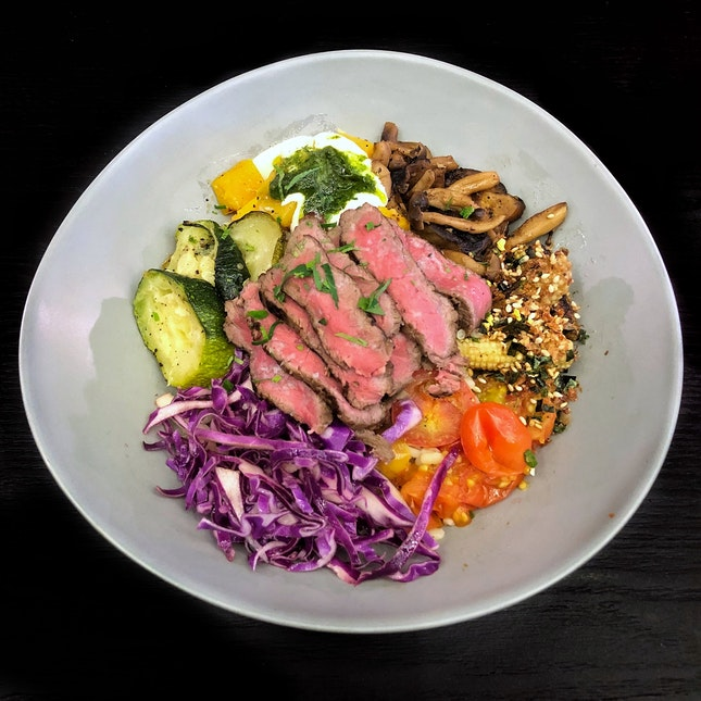 Wagyu Grain Beef Bowl $24