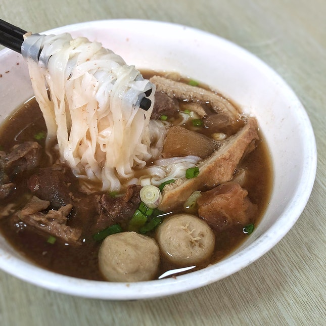 Mixed Beef noodles RM9(small) / RM13(large)