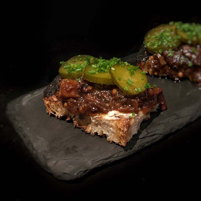 Beef Marmalade & Pickles $14