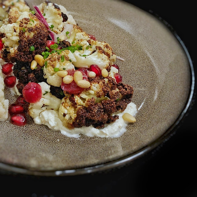 Roasted Cauliflower Salad $14.5