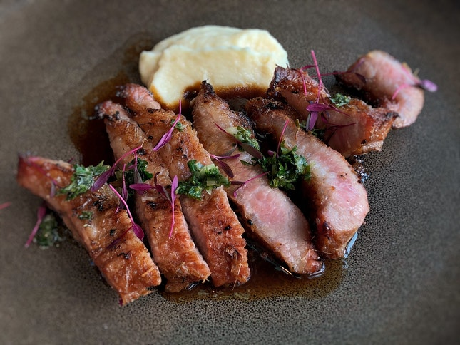 Executive Set Lunch - Ibérico Pork Jowl $42