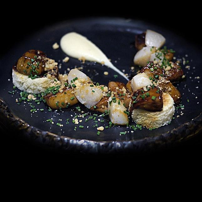Seared Foie Gras And Scallops $32