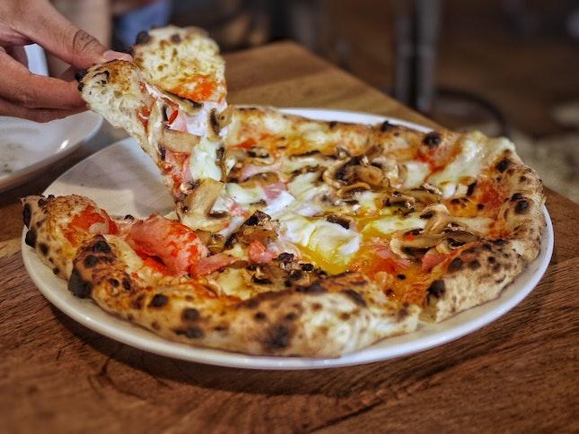 Bismark Pizza $26