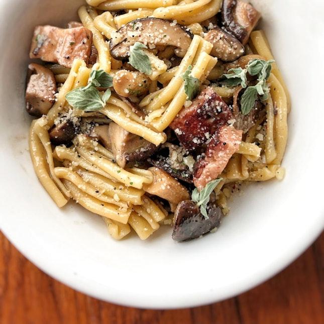 Casarecce Mushroom $28