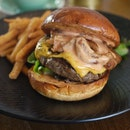 Wagyu Bacon Cheeseburger $25