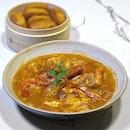 Singapore Style Chilli Prawns $22