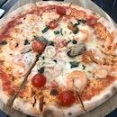 Seafood Pizza!