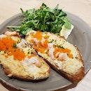 Ebiko Crab & Prawn Toastie