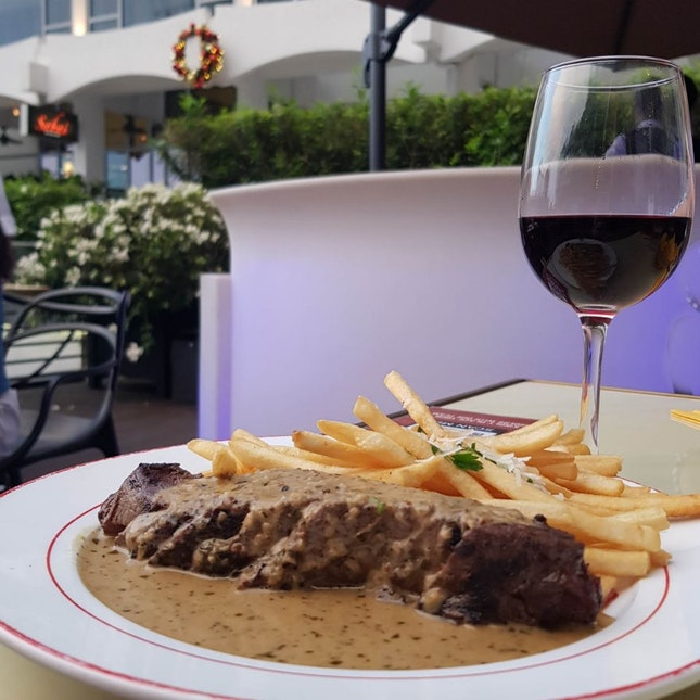 Steak While Looking At MBS