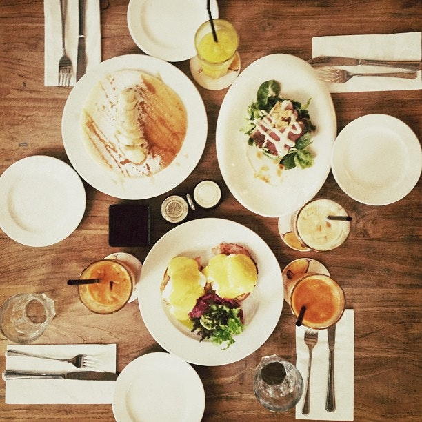 Quick brunch with the girlfriends at Canopy. & Quick brunch with the girlfriends at Canopy. | Burpple