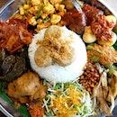 Traditional Ambeng Platter or Nasi Ambeng at East Village.