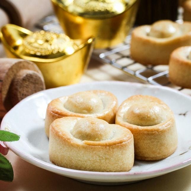 Bakerzin's Traditional Yuan Bao Pineapple Tart