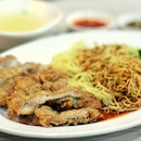 Go for their Juicy Chicken Cutlet Noodles!