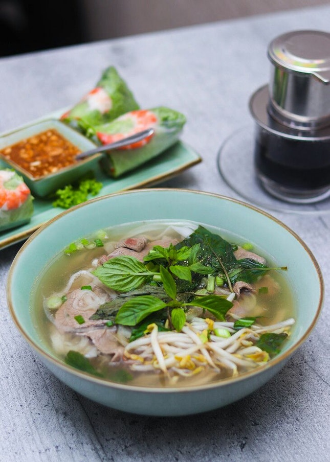 Comforting & Affordable Vietnamese Fare