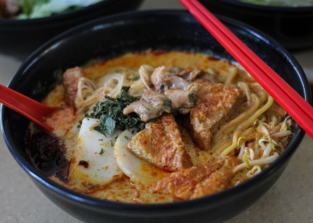 Delicious Noodles in Hougang