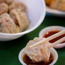 Fresh Handmade Dumplings in Maxwell Food Centre!