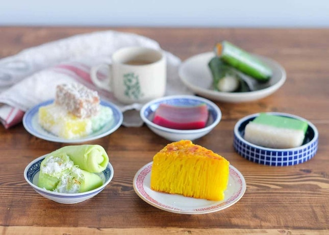 You Can Get Every Traditional Nonya Kueh Here!