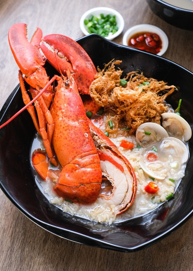Actor Chew Chor Meng Sells $16 Lobster Pao Fan