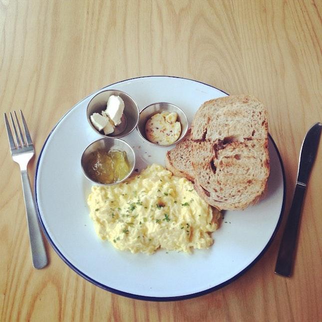 Morning breakfast..