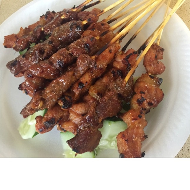 Pork & Mutton Satay