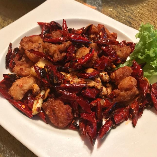 辣子雞 Sichuan Popcorn Chicken